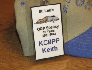 25th Anniversary Member ID Badge